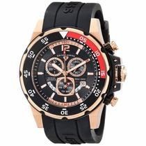 Reloj Swiss Legend Ocean Abyssos Caucho Chrono 10348-rg-01
