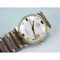 Reloj Waltham 25 Joyas Oro De 14k, Fechador Cuerda Automátic
