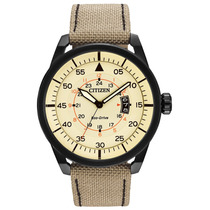 Citizen Avion Nylon Begie Aw1368-11x ¨¨¨¨¨¨¨¨¨¨¨¨¨¨dcmstore