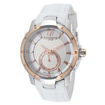 Reloj Technomarine Uf6 Color Perla Piel Blanca 609019