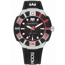 Reloj Technomarine Black Reef Silicon Negro 513002