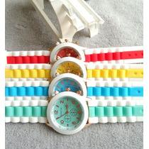 Relojes Geneva Moda Precio Mayoreo Fabricante Raya Hermoso