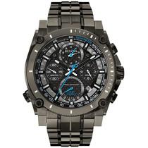 Reloj Bulova Precisionist Acero Inox. Color Polvora 98b229