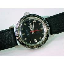 100% Y Original Reloj Caravelle De Bulova, Hora Mundial.