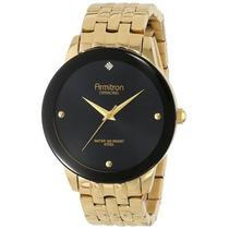 Reloj Para Caballero 20 / 4952bkgp Diamond Dial De Pared
