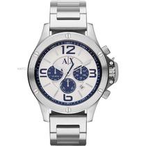 Reloj A/x Ax1502 Plateado 100% Original **envio Gratis**