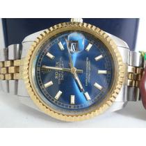 Hermoso Reloj Rolex Presidente De Caballero, Fechador, Hm4