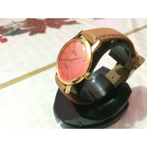 Reloj Caballero Hmt Sona Dorado Chapa De Oro 17 Joyas India