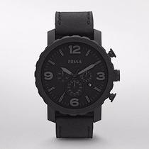 Reloj Fossil Nuevo Jr1354 | Nate Cronografo |