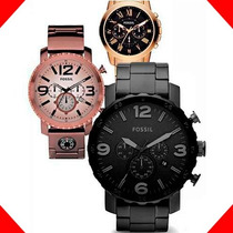 Relojes Fossil - Varios Modelos - Triple Fechador - Cfmx