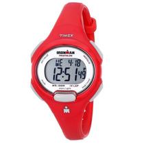Reloj Timex Ironman Dama Sport Tradicio Rojo - Blakhelmet Sp