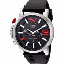 Puma Ultrasize Crono 50mm Diametro Reloj Acero Diego Vez