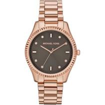 Reloj Unisex Michael Kors Blake Oro Rosado Garantia Mk3227