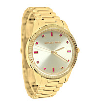 Reloj Dama Michael Kors Blake Champaña Acero Rosa Mk3246
