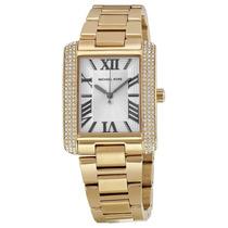 Reloj Dama Michael Kors Emery Acero Color Oro Blanco Mk3254