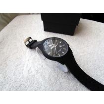 Precioso Reloj Puma Negro Caucho Subasta 1 Peso