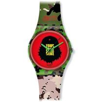 Reloj Swatch Verde Femenino