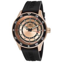 Reloj Invicta Speciality Acero Color Oro Rosado, Negro 14336