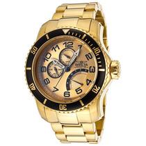 Reloj Invicta Pro Diver Acero Inoxidable Color Oro 15343