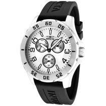 Reloj Invicta Speciality Acero Inoxidable, Caucho Negro 1806