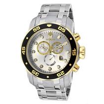 Reloj Invicta Pro Diver Acero Inoxidable, Deportivo, 80040