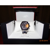 Reloj Tissot Cronografo, Cristal Zafiro, Como Nuevo