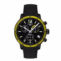 Reloj Tissot Quickster Chrono Football Negro/ama T0954493