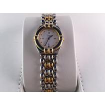Reloj Chopard Gstaad Acero-oro Quartz 24 Mm De Dama