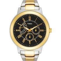 Reloj Timex Wtmx1628 Plateado Con Dorado