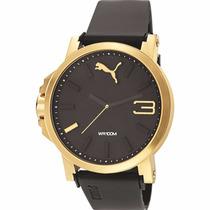 Puma Ultrasize Gold 45mm Diametro Dorado C Relojes Diego Vez