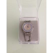 Reloj Swatch Modelo Sfk138ge Skin Pulso De Aluminio
