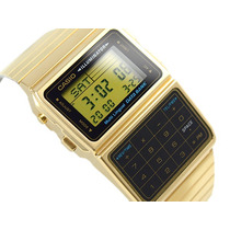 Reloj Casio Databank Dbc611g Calculadora Dual Time
