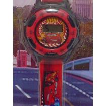 Reloj De Cars Rayo Mcqueen Original Sport