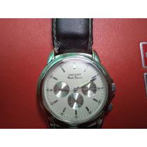 Reloj Orient Analogo Con 3 Esferas