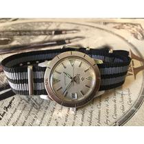Reloj Zodiac Sea Wolf Automatico Buzo De Coleccion Excelente