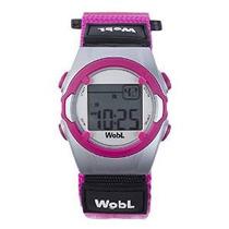 Wobl - Recordatorio Vibrante Rosa 8 De Alarma Del Reloj