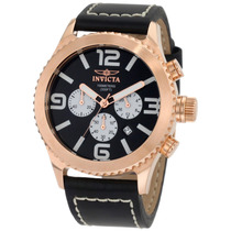 Reloj Marca Invicta 1429 Collection Chronograph Black Vbf