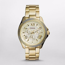 Reloj Fossil Cecile Multifunction Gold-tone Am4570 Watchito