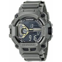 Reloj Armitron Militar Digital Gris Shock :)
