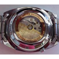 Elegante Reloj Seiko Skeleton Maquinaria Visible Automatico