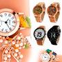 Relojes Moda Mujer Hombre Vintage Pulsera Casual Sport