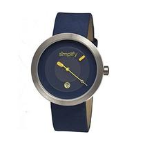 Reloj Simplify The 300 Azul Femenino
