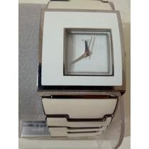 Reloj Swatch De Ceramica Blanca.