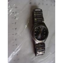 Reloj Citizen Ecodrive Titanium , 3.5 Cm De Diametro , Crist