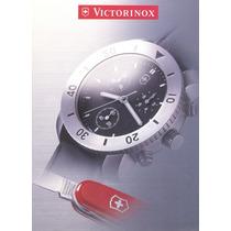 Reloj Victorinox De Acero Inoxidable Nuevos Varios Modelos