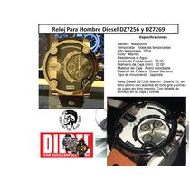 Reloj Diesel Tipo Diesel Dz7258