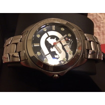 Reloj Marc Ecko, All Steel Original Como Nuevo