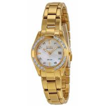 Reloj Citizen Eco-drive Regent Acero Dorado Mujer Ew1822-52d