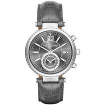 Reloj Michel Kors Dama 2432 Gris Envío Gratis