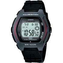 Reloj Casio Hdd-600 Sumergible 100m Despertador Alarma